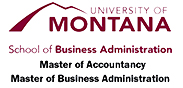 Univ. of MT, College of Business, Masters Programs